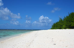 Ritidianstrand, Guam Royalty-vrije Stock Fotografie