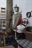 Ritira la decorazione nel giardino dello studio Immagine Stock Libera da Diritti