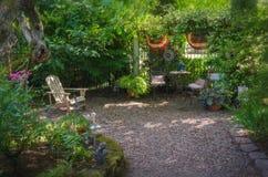 Ritirata del giardino Fotografia Stock