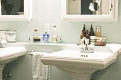 Ritirata della stanza da bagno Fotografia Stock