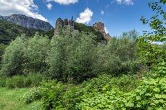 Ritlite - rock formations at Iskar River Gorge, Balkan Mountains, Bulgaria. View of Ritlite - rock formations at Iskar River Gorge, Balkan Mountains, Bulgaria stock photography