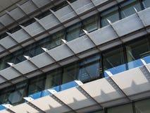 Ritme van architecturale structuren, Frankfurt, Duitsland Royalty-vrije Stock Afbeeldingen