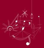 Ritmi di musica (vettore) Fotografia Stock