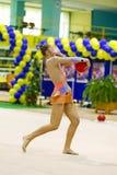 Ritmische Gymnastiek- Stock Foto's