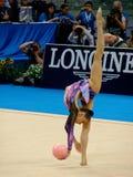 Ritmische Gymnastiek- Stock Foto