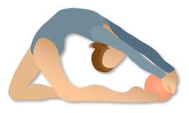 Ritmische Gymnastiek: Bal stock illustratie