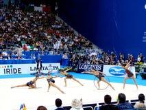 Ritmische Gymnastiek-: Bulgarije royalty-vrije stock foto