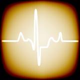 Ritmo cardiaco Fotografia Stock Libera da Diritti