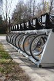 Ritmo de la bicicleta en Moscú Foto de archivo libre de regalías