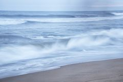 Ritmo de olas oceánicas imágenes de archivo libres de regalías