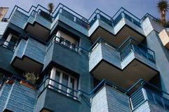 Ritmo del balcone Fotografie Stock Libere da Diritti