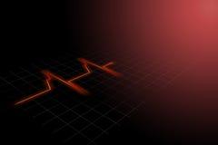 Ritmo del corazón Imagen de archivo libre de regalías
