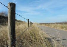 Ritmo pacífico en las dunas de Holanda Fotos de archivo libres de regalías