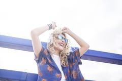 Ritmo y danza en el sol Foto de archivo libre de regalías