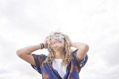 Ritmo y danza en el sol Fotografía de archivo