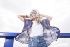 Ritmo y danza en el sol Fotografía de archivo libre de regalías