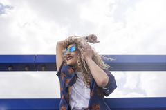 Ritmo y danza en el sol Imagen de archivo libre de regalías