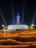 Rito de ondulação claro do budismo Fotografia de Stock Royalty Free