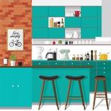 Ritocchi la vostra cucina Immagini Stock