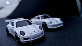 Ritorno di fiamma di Porsche fotografia stock libera da diritti