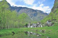 Ritorto,Val Bavona,Ticino Canton,Switzerland Stock Images