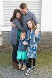 Ritratti della famiglia Immagini Stock