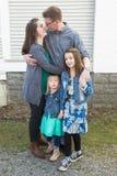 Ritratti della famiglia Fotografia Stock