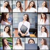 Ritratti della raccolta Immagine Stock