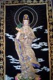Ritratti di bodhisattva, alla mostra internazionale dei gioielli di Shenzhen Fotografia Stock Libera da Diritti