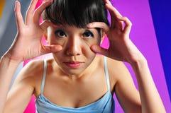 Ritratti femminili Fotografie Stock Libere da Diritti