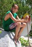 Ritratto 1 del ragazzo del surfista fotografie stock