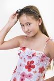 Ritratto 8 della margherita Fotografie Stock