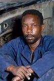 Ritratto africano dell'operaio Fotografia Stock Libera da Diritti