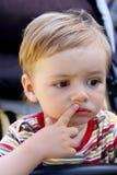 Ritratto-anno-vecchio bambino Immagine Stock Libera da Diritti