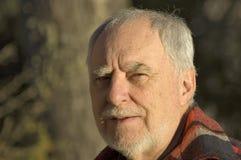 Ritratto anziano 1 dell'uomo Immagini Stock Libere da Diritti