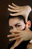 Ritratto artistico Fotografia Stock