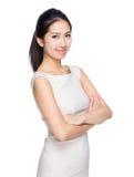 Ritratto asiatico della donna fotografia stock libera da diritti