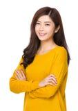 Ritratto asiatico della donna fotografie stock libere da diritti