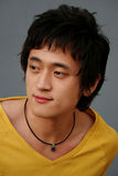 Ritratto asiatico maschio Fotografia Stock Libera da Diritti