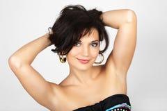 Ritratto attraente della donna. Immagini Stock Libere da Diritti