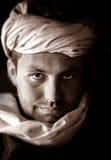 Ritratto beduino Fotografie Stock Libere da Diritti