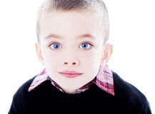 Ritratto bello del ragazzo Immagini Stock Libere da Diritti