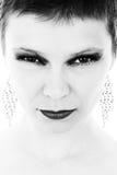 Ritratto in bianco e nero Immagini Stock