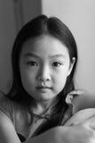 Ritratto in bianco e nero Immagine Stock Libera da Diritti