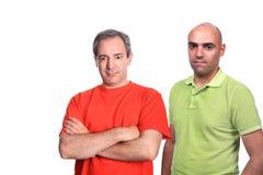 Ritratto casuale degli uomini Fotografie Stock Libere da Diritti