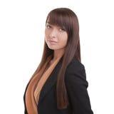 Ritratto casuale della donna di affari Immagini Stock Libere da Diritti