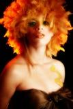 Ritratto cosmetico artistico fotografie stock libere da diritti