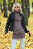 Ritratto d'autunno Fotografia Stock