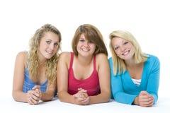 Ritratto degli adolescenti immagine stock