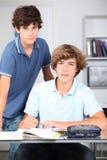 Ritratto degli allievi della High School Fotografia Stock Libera da Diritti